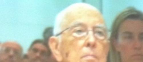 Giorgio Napolitano in visita di stato in Svizzera.