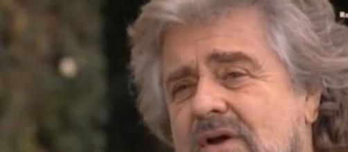 Beppe Grillo streaming live da Roma oggi