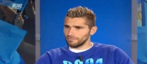 Valon Behrami centrocampista del Napoli