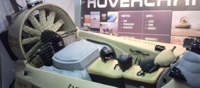 Military Combat Hovercraft for improve border patrol