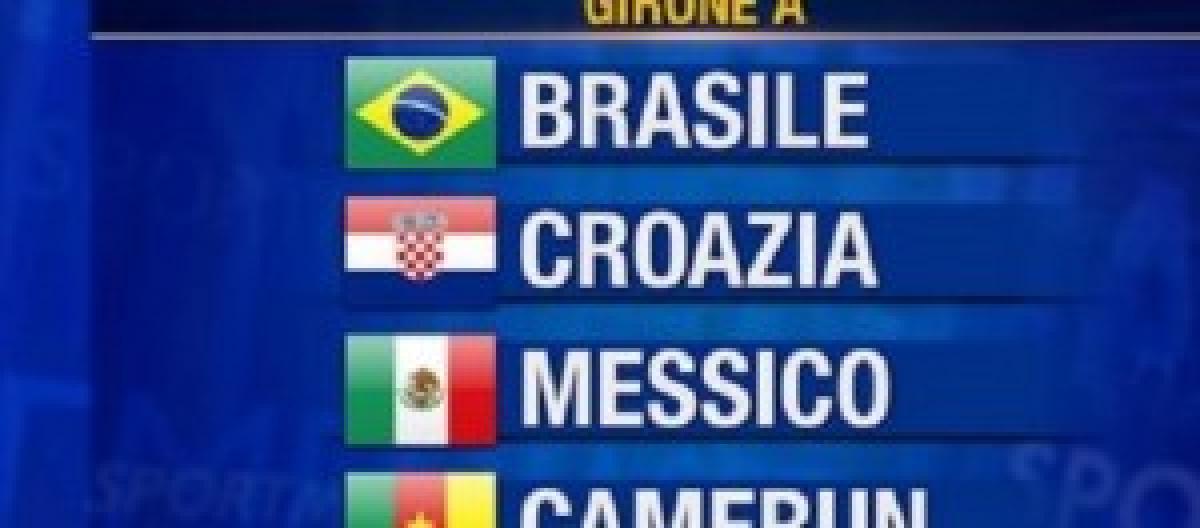 Mondiali Calendario.Mondiali Brasile Gruppo A Calendario Orari Partite