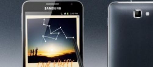 La gamma Note di Samsung!
