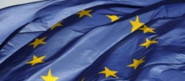 Bandiera dell'Unione Europea!
