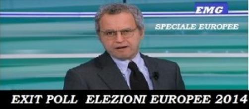 """Exit Poll Italia su La7 nello """"Speciale Europee"""""""