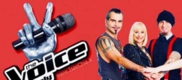 The Voice of Italy i 4 coach del programma.