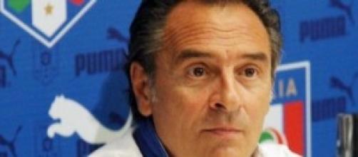Cesare Prandelli ct degli azzurri