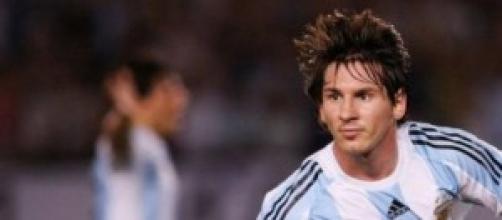 Lionel Messi, leader dell'Argentina