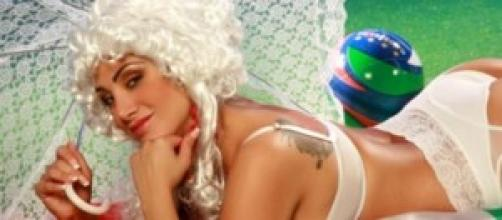Marika Fruscio hot per i Mondiali 2014