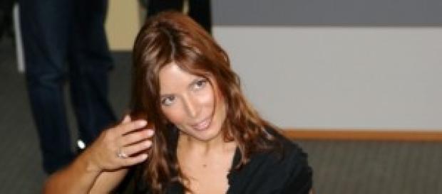 la bella e sexy Selvaggia Lucarelli