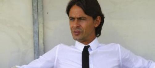 Filippo Inzaghi, allenatore del Milan Primavera