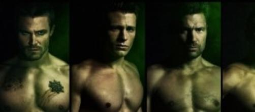 I protagonisti maschili di Arrow.
