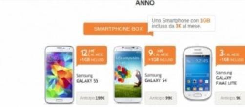Offerte Wind per Galaxy S5 e S4 con Smarphone Box