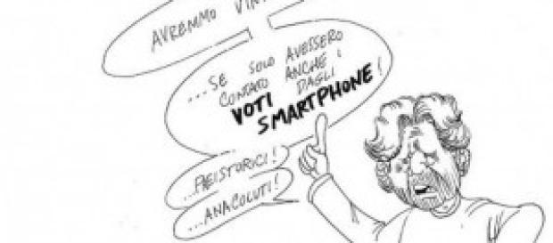 Grillo non si dà pace per i risultati elettorali