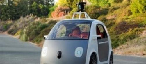 Auto elettrica a guida automatica di Google