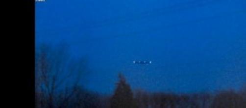 Un avvistamento Ufo in Italia.