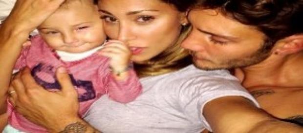 Belen, Stefano e il piccolo Santiago