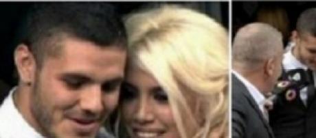 Mauro Icardi e Wanda Nara sposi