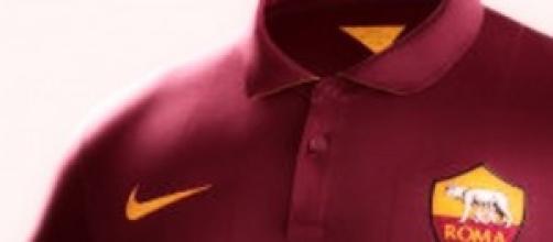 Nuova maglia Nike della Roma