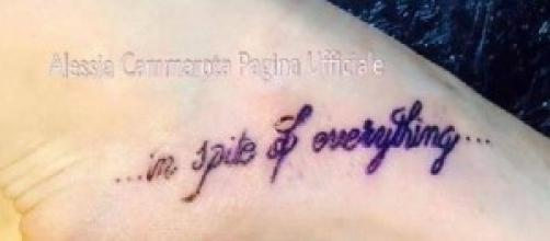 """Uomini e Donne: Alessia """"In spite of everything"""""""