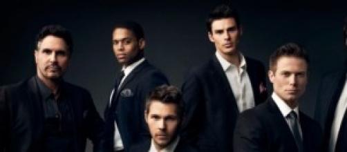 Il cast maschile di Beautiful