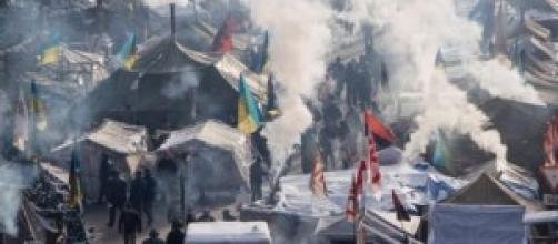 L'Ucraina in preda alle violenze