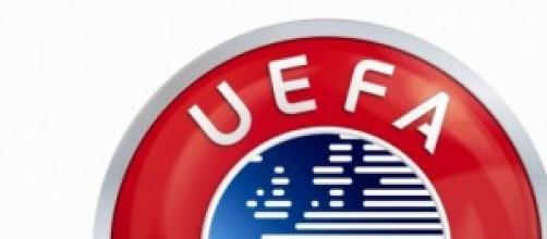 Nella foto, il logo dell'Uefa.