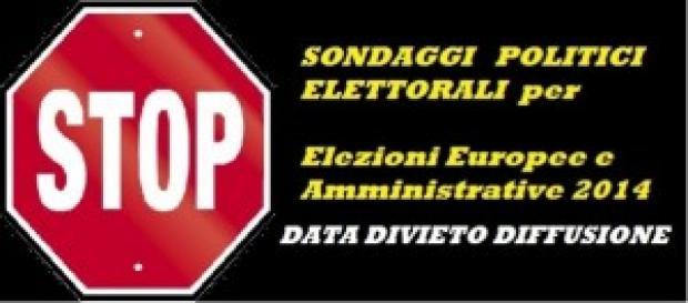 Sondaggi politici elettorali 2014: data divieto