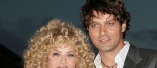 Gabriel Garko con l'allora fidanzata, Eva Grimaldi