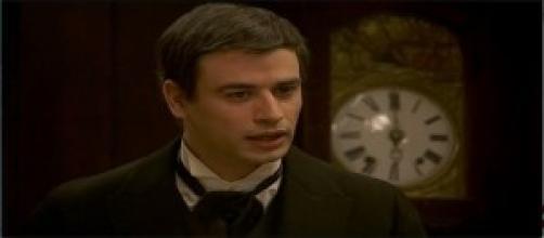 Olmo Mesia, uno dei personaggi della soap