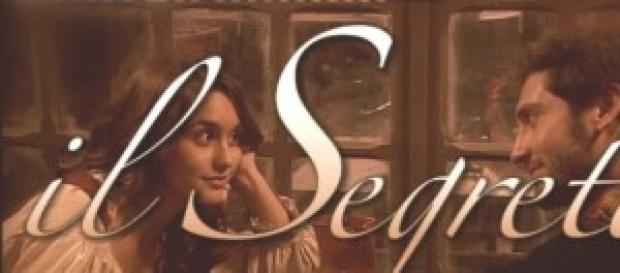 Pepa e Tristan i protagonisti de Il Segreto.