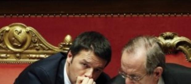 Renzi e Padoan alle prese con i conti