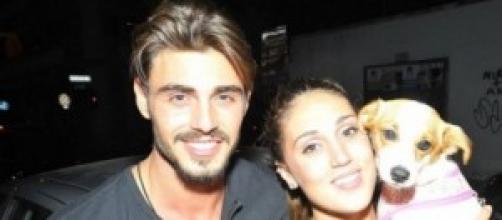 Francesco Monte e la fidanzata Cecilia Rodriguez
