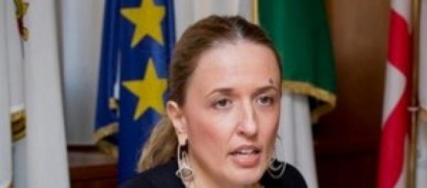 Claudia Lombardi in pensione a 41 anni