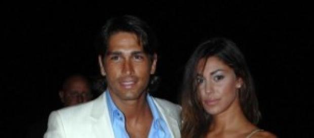 Marco Borriello e Belen Rodriguez insieme