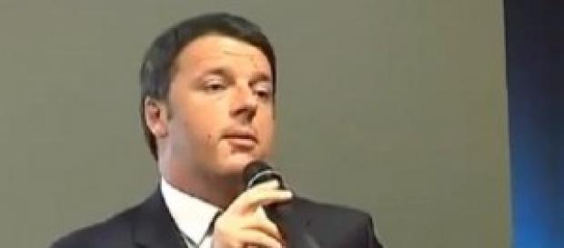 Matteo Renzi in visita a Genova