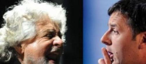 Ultimi sondaggi elezioni: Grillo, rimonta su Renzi
