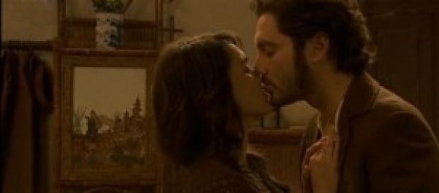 Trame il segreto 11-18 maggio: il bacio