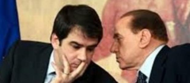 Scontro Fitto Berlusconi in Forza Italia.