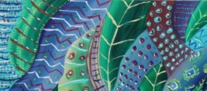 Ayahuasca, 60x80cm, acrilico su tela