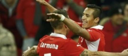 Alexis Sanchez attaccante del Cile