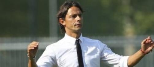 Filippo Inzaghi, il nuovo 'mister' del Milan