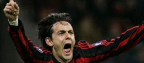 Filippo Inzaghi, neo allenatore del Milan