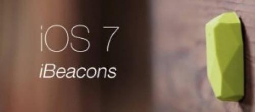 Gli iBeacon, piccoli dispositivi Bluetooh LE