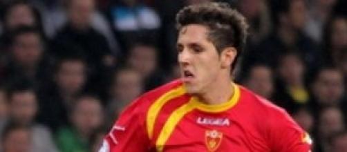 Stevan Jovetic, attaccante montenegrino