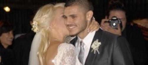 Wanda Nara e Mauro Icardi sposi e presto genitori