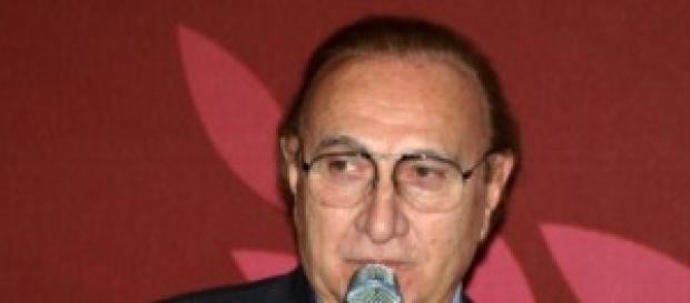 Pippo Baudo, popolare presentatore Tv