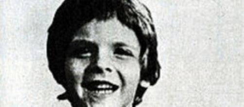 Alfredo Rampi, poco prima della tragedia