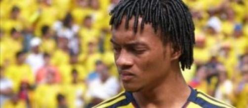 Il colombiano della Fiorentina Cuadrado