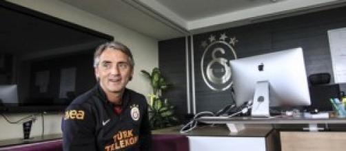 Mancini negli uffici del club turco