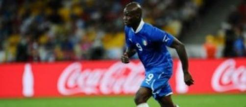 Mario Balotelli attaccante dell'Italia